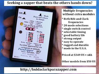 ParaZapper � Dr. hulda clark parasite zapper really works