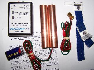 ParaZapper™PLUS parasite zapper with standard copper paddles and 3M straps. Electrocute parasites with the improved Hulda Clark zapper.